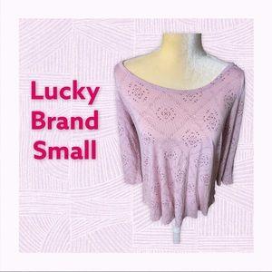 Lucky Brand SM Lightweight Flowy Top